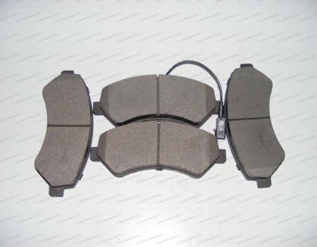 Колодки передние дисковые Q20 на Пежо Боксер - 77367093