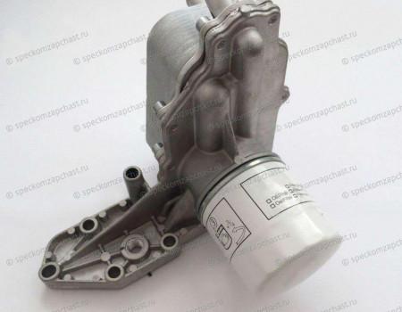 Теплообменник (радиатор) фильтра масляного 2.4 (2.2 155л.с с2011г.) на Форд Транзит - 1755226