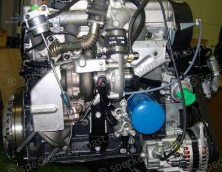 Двигатель D4BF(4D56T) (с навесным) на Хендай Портер 1 - 2110142R00