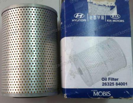 Фильтр масляный D6CA,D6CB38 на Hyundai HD - 2632584021