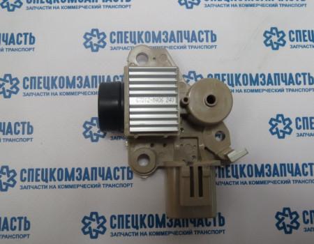Реле интегральное генератора (+ щетки) D4DD на Hyundai HD - 373708Y020