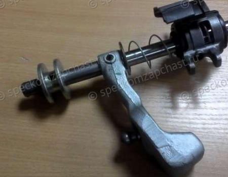 Механизм управления выбором передач трёхвальной КПП E222, M38 на Фиат Дукато - 55219953