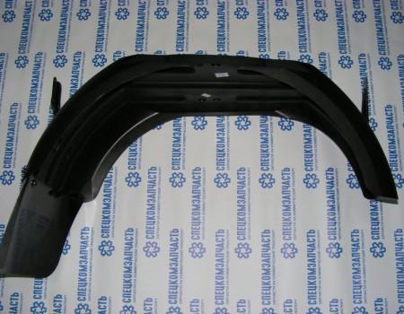 Подкрылок задний правый с брызговиком на Хендай Портер 2 - 612204F012