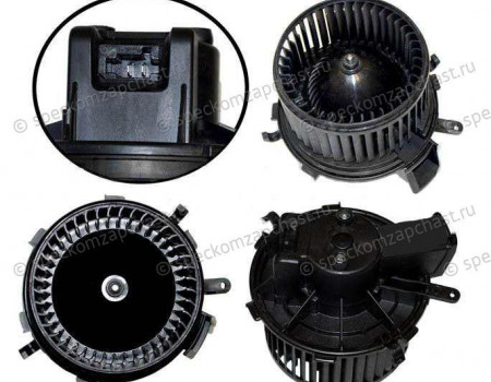 Мотор отопителя (печки) кабины в сборе на Пежо Боксер - 402555
