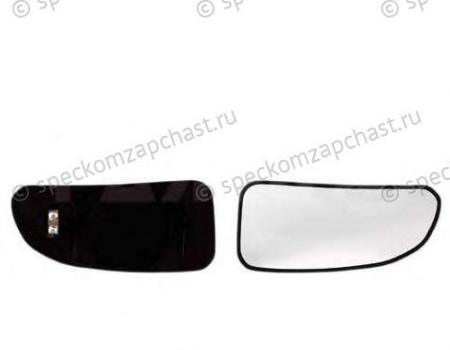 Зеркальный элемент зеркала правый нижний (с обогревом) на Фиат Дукато - 71716699