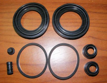 Ремкомплект переднего суппорта (двухпоршневой) (пыльники резинки) (4 WDJ3) на Киа Бонго - 77A1677