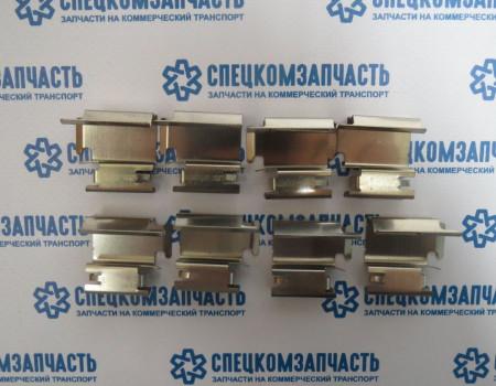 Ремкомплект колодок задних (пластины прижимные) на Пежо Боксер - 901218