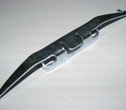Пластина пружинная тормозных колодок на Мерседес Спринтер - A0004215991