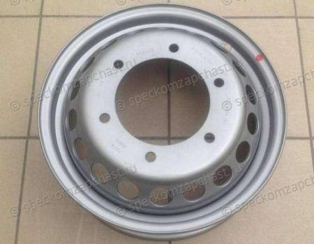 Диск колеса стальной R16 (5,5Jx16ET109,5) серебро на Мерседес Спринтер - A00240101029206