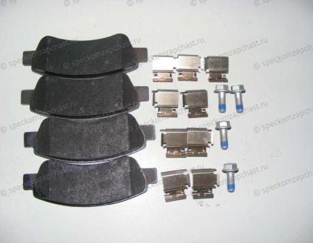 Колодки тормозные задние дисковые на Пежо Боксер - 425469