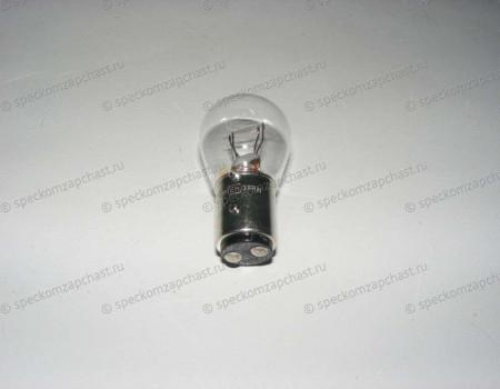 Лампочка фонаря заднего стоп-сигнала 24V/21W 2-х контактная на Hyundai HD - 1865421058