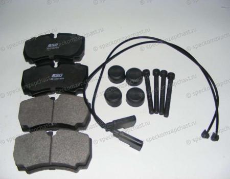 Колодки тормозные задние (дисковые) (датчик) на Форд Транзит - 1718023