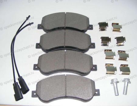 Колодки тормозные передние на Форд Транзит - 1824346