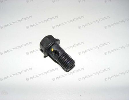 Болт (штуцер) маслянной трубки турбины/генератора (полый) на Хендай Портер 2 - 2682247291