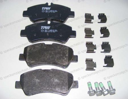 Колодки тормозные задние (дисковые) 14- на Форд Транзит - M2625603