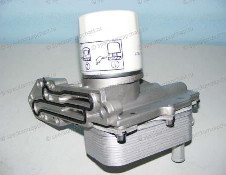 Теплообменник (радиатор) фильтра масляного 2.2 (155л.с 11-) на Форд Транзит - 1842739