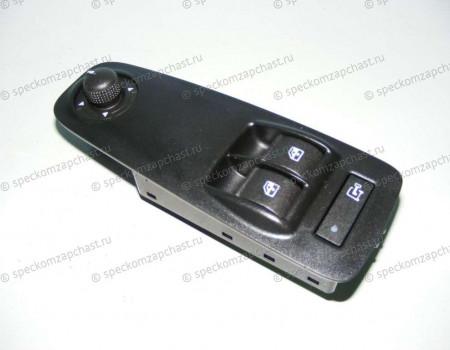 Выключатель (блок) управления стеклоподъемниками левый (+ зеркала) на Пежо Боксер - 1608705680