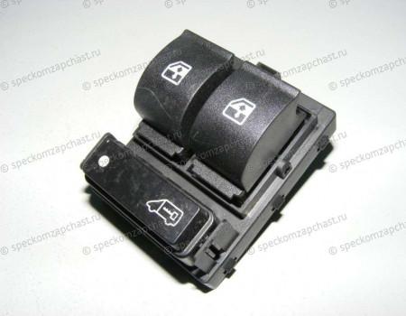 Выключатель (блок) управления стеклоподъемниками левый (без зеркал) на Пежо Боксер - 6490X9
