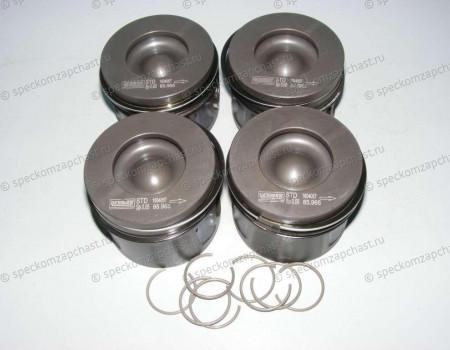 Поршень двигателя (кольца + палец) STD 2.2 на Форд Транзит - 8742770010
