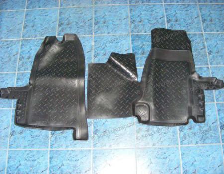 Коврики салона передние (полиуретан) на Форд Транзит - NPLPO2280