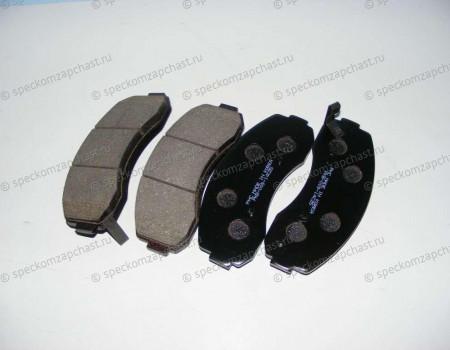 Колодки передние дисковые (однопоршневой суппорт) (D4BH, J2) на Киа Бонго - HP1014