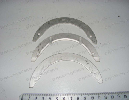 Полукольца коленвала 0,00 STD D4DD/D4AL/D4DB комплект на Hyundai HD - 2121545020