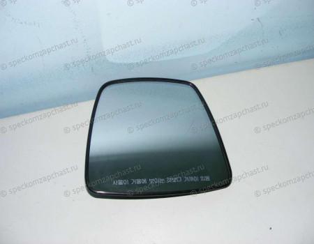 Стекло зеркала левое верхнее (с подогр эл. Двойное) на Киа Бонго - 876114E100