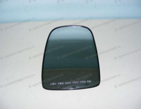 Стекло зеркала левое верхнее (с подогр эл.) (одинарное) на Киа Бонго - 876114E800