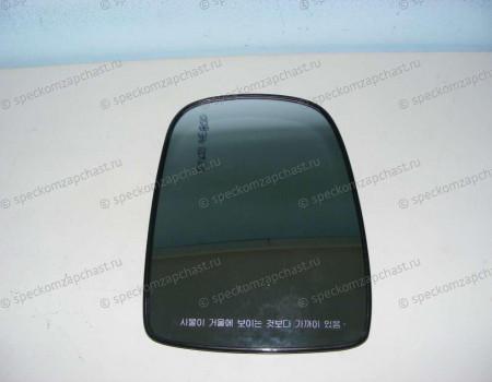 Стекло зеркала правое верхнее (с подогр эл.) (одинарное) на Киа Бонго - 876214E800
