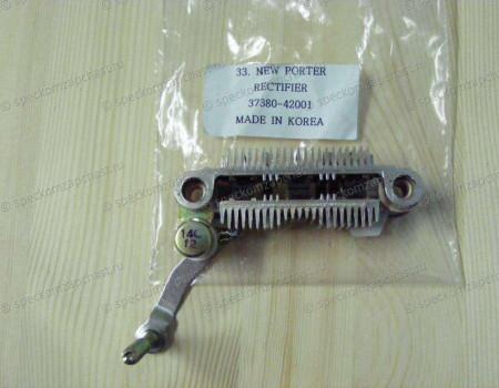 Мост диодный (выпрямитель) генератора на Хендай Портер 1 - 3738042001