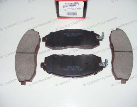 Колодки передние дисковые (однопоршневой суппорт) на Хендай Портер 2 - 581014FA00