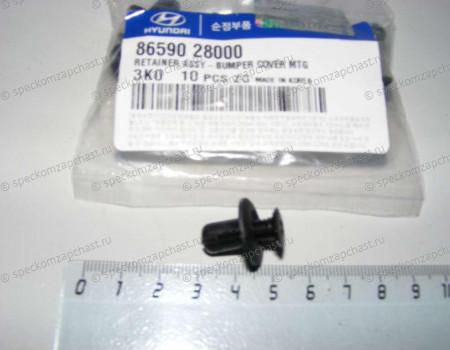 Клипса крепления бампера на Хендай Портер 2 - P370502