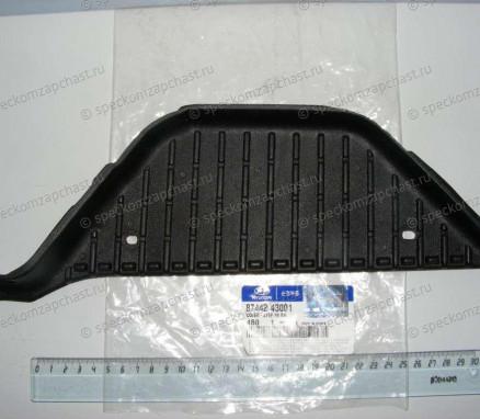 Накладка подножки кабины правая на Хендай Портер 1 - 8744243001