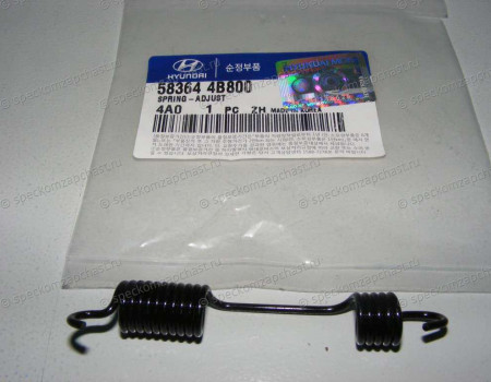 Пружина тормозного механизма заднего (стяжная верхняя левая) на Хендай Портер 1 - 583644B800