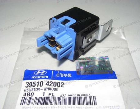 Реле (резистор) отопителя на Хендай Портер 1 - 3951042002