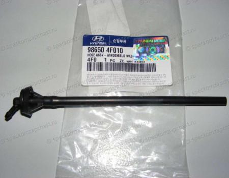 Трубка омывателя лобового стекла на Хендай Портер 2 - 986504F010