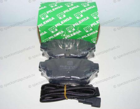 Колодки тормозные задние (дисковые) на Форд Транзит - 1824348