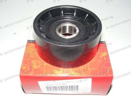 Ролик натяжителя приводного ремня (гладкий) 2.2 на Форд Транзит - 331316170653
