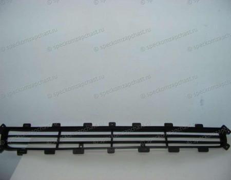 Решетка бампера переднего (круглые ПТФ) на Хендай Портер 2 - RG1001