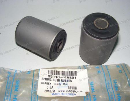 Сайлентблок рессоры на Киа Бонго - 551184A501