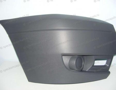 Бампер передний (правая часть) (без ПТФ) на Форд Транзит - 1437326