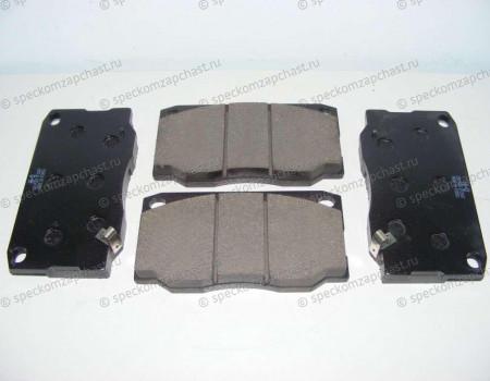 Колодки тормозные передние (диск) на Hyundai HD - 581015HA30