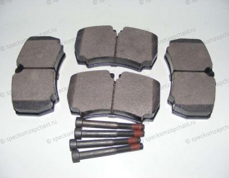 Колодки тормозные задние (дисковые) (без датчика) на Форд Транзит - 1718023