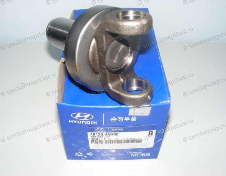 Вилка (хвостовик) карданного вала (в КПП) на Хендай Портер 1 - 491204B100