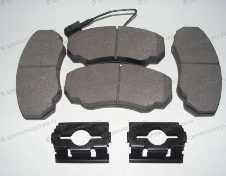 Колодки передние дисковые (Q11,Q15) R15 на Фиат Дукато - 77364862