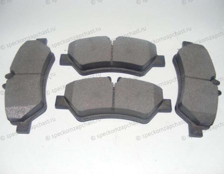 Колодки тормозные задние дисковые на Фольксваген Крафтер - 2E0698451