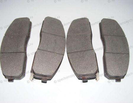 Колодки передние дисковые (двух поршневой суппорт) на Хендай Портер 2 - 581014FA10