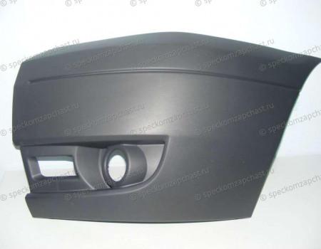 Бампер передний (левая часть) (ПТФ) на Форд Транзит - 1437092