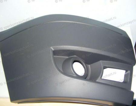 Бампер передний (правая часть) (ПТФ) на Форд Транзит - 1437091
