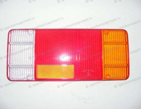 Стекло фонаря заднего правый бортовой прямоугольный на Пежо Боксер - 3050880E
